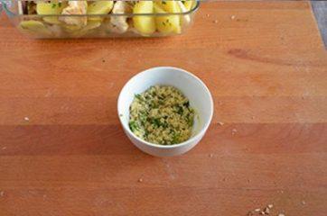 Funghi e patate al forno 6