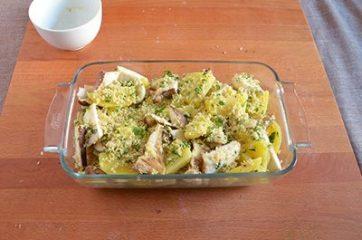 Funghi e patate al forno 7